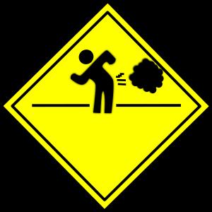 A fart sign
