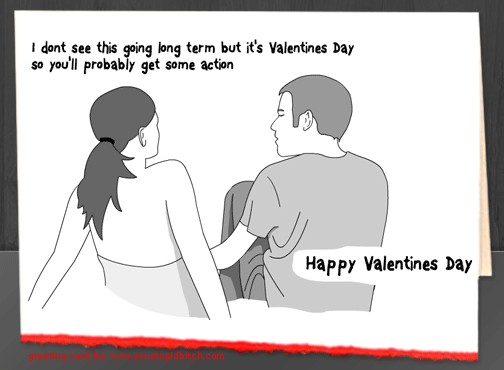 Awkward Valentine Card