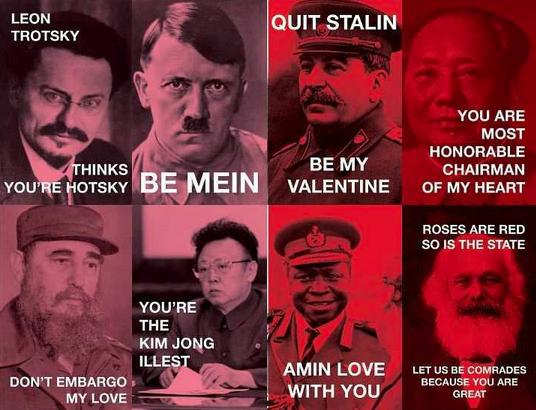 Dictator Valentine Cards