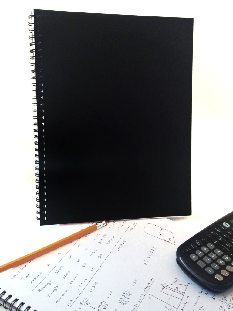 Emnote Unruled Notebook